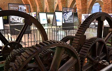 Ficitcios de maquinaria en el Museo de Sabero, León