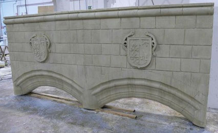 Arco de Piedra, para exposición en Vitoria