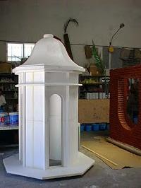 Hornacina, Templete, para decoración en Centro Comercial Gan Vía de Alicante