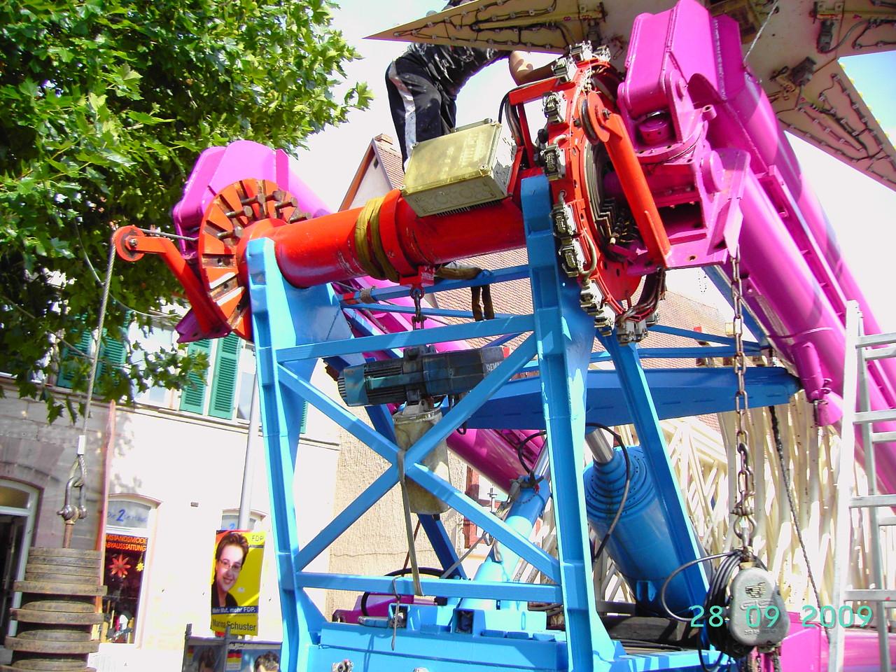 Abbau Riesenrad 34