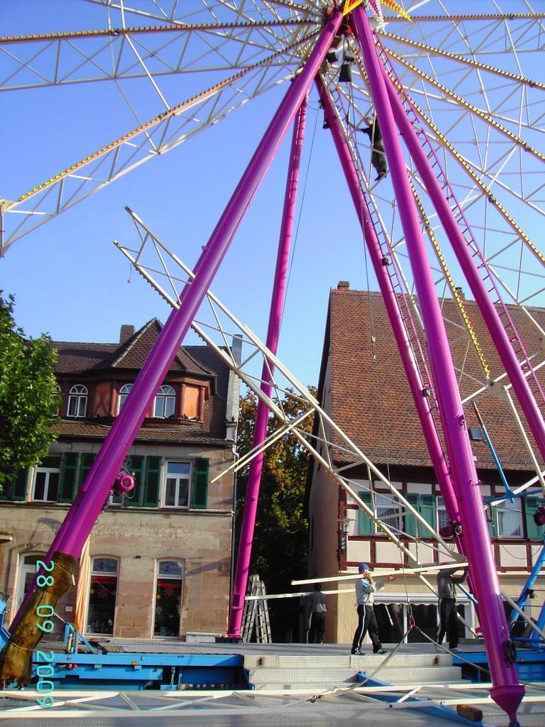 Abbau Riesenrad 7