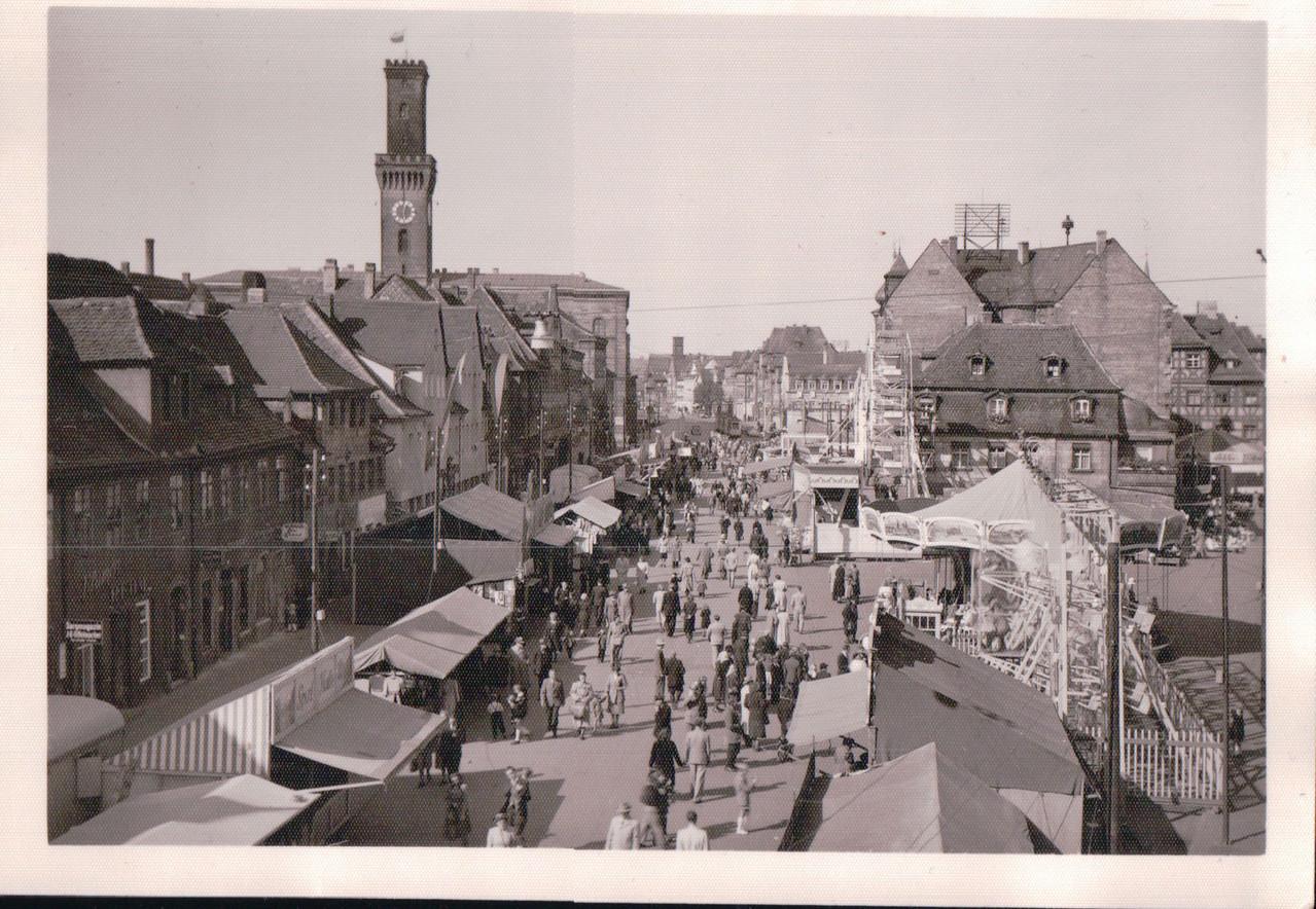 Kirchweih Fürth 1950