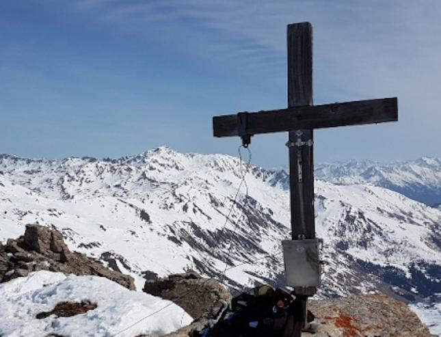 Gipfelkreuz Eiskarl