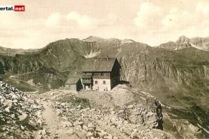 Tuxerjochhaus, 1910 erbaut, Österreichischer Touristen Klub ÖTK