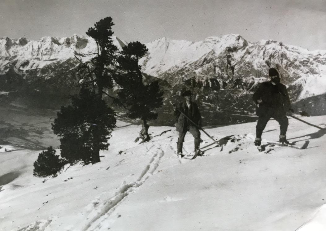 Skipioniere Alfons Siber & Josef Anker