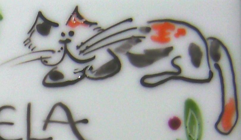 Katze rot-weiß-schwarz