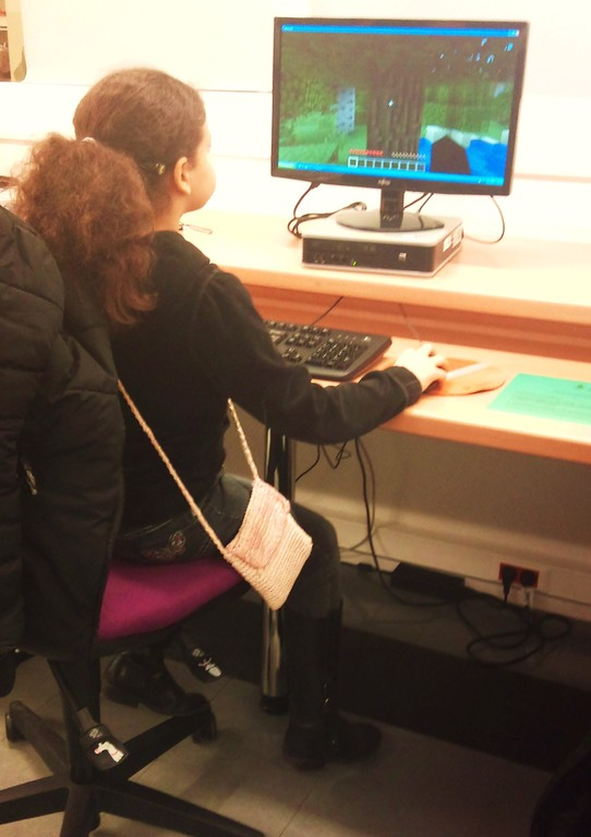 Jeu Minecraft - avec les étudiants de l'ENSIIE