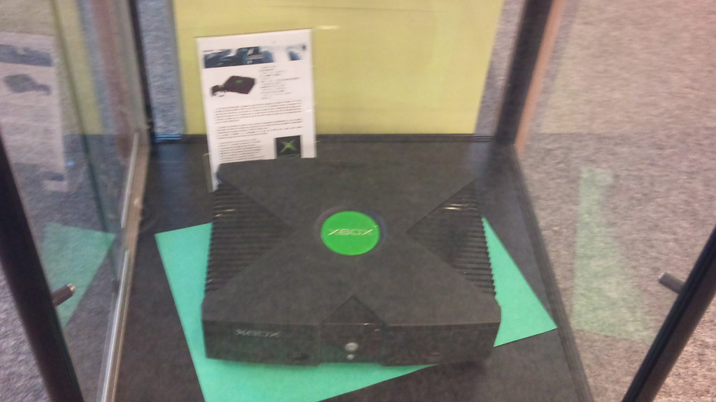 Exposition Retrogaming - console XBox