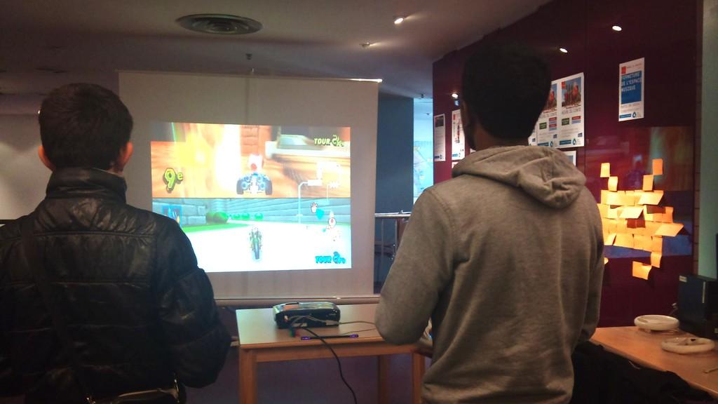Tournoi Mario Kart - avec les étudiants de l'ENSIIE