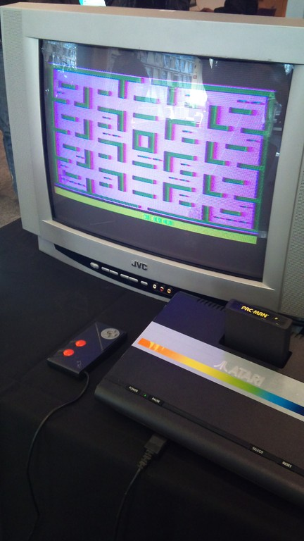 Exposition Retrogaming - console Atari