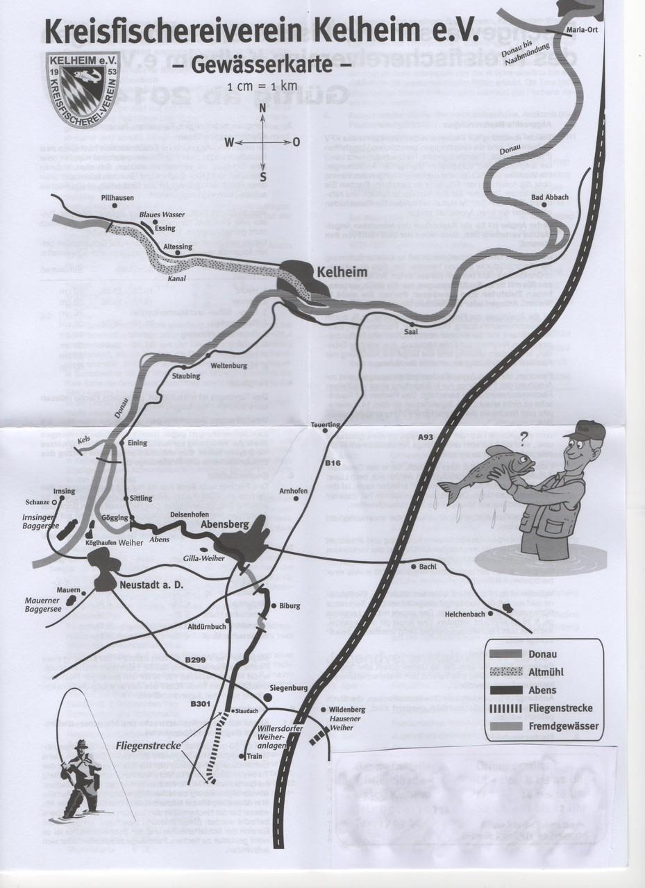Gwässerkarte