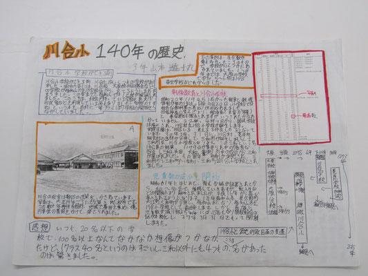 川合小 140年の歴史