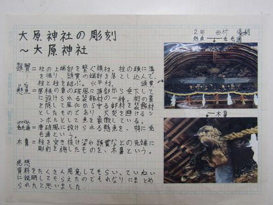 大原神社の彫刻~大原神社