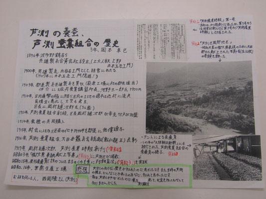 芦渕の養蚕、芦渕蚕業組合の歴史