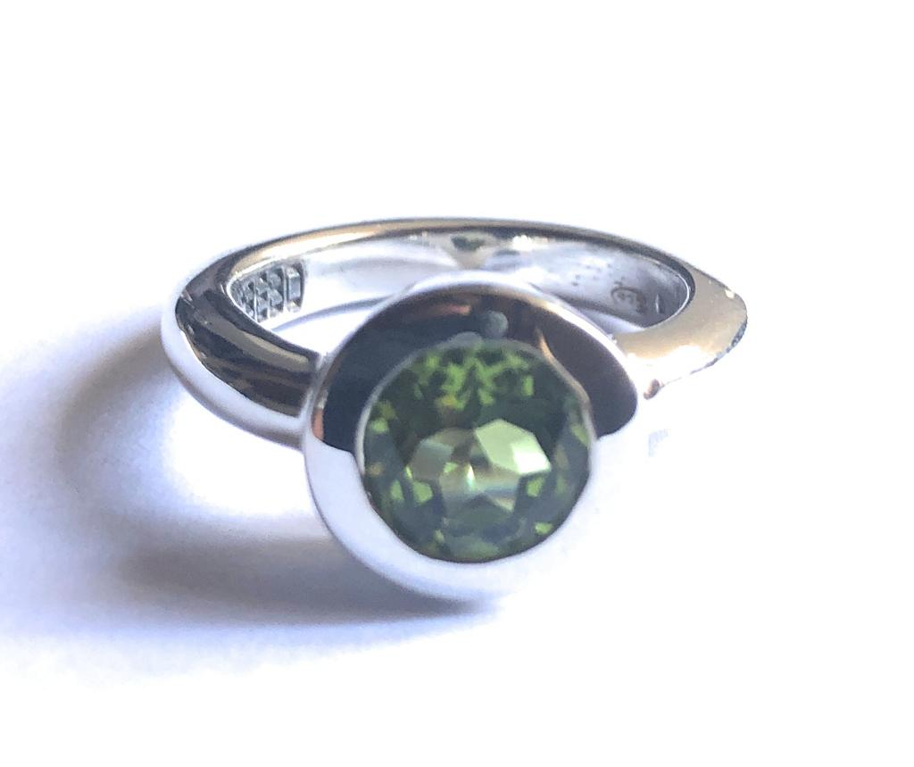 The Circle Ring - Diopside