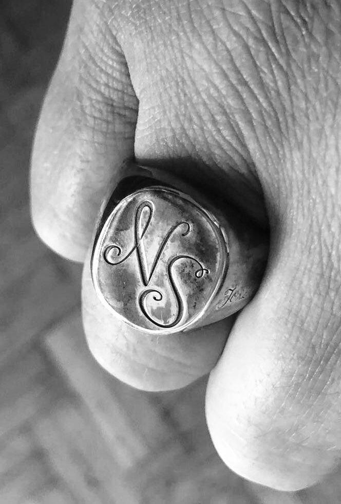 Signet Ring Personalized NS