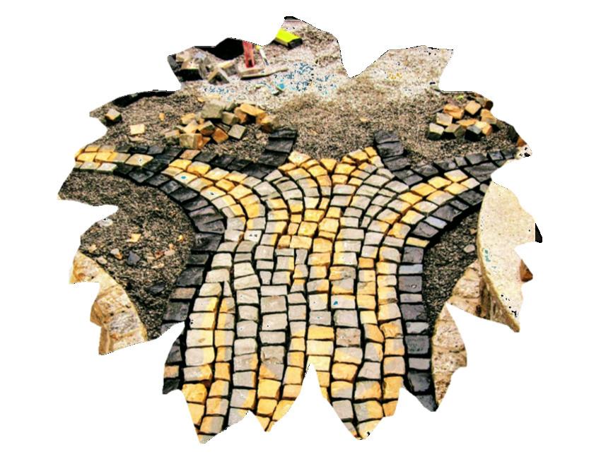 Mosaikpflaster