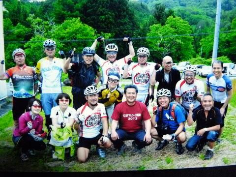 福島民報の記者さんが 写真を撮ってくれて 全員分印刷して送ってくれました。