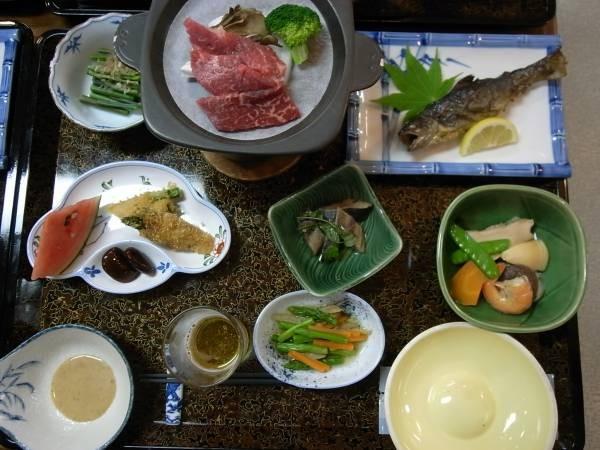 20 料理はスペシャル料理で南会津の幸を堪能しました