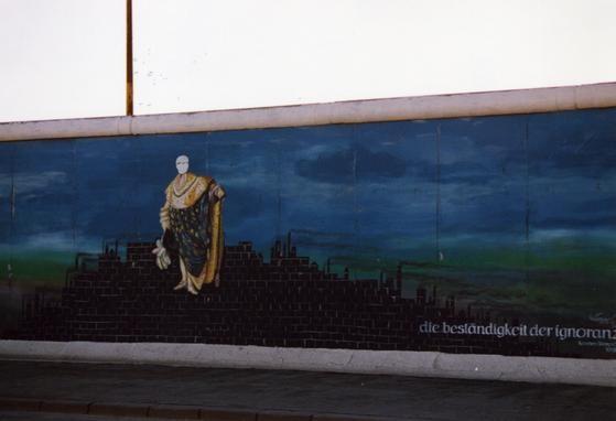 """""""Die Beständigkeit der Ignoranz"""" von Karsten Wenzel © Dagmar Lipper, www.wir-waren-so-frei.de"""