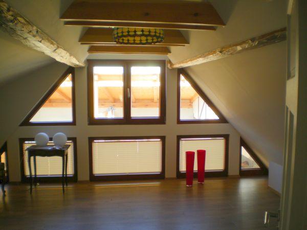 "Das ""Studio"" im Dachgeschoss mit Schlafsofa"