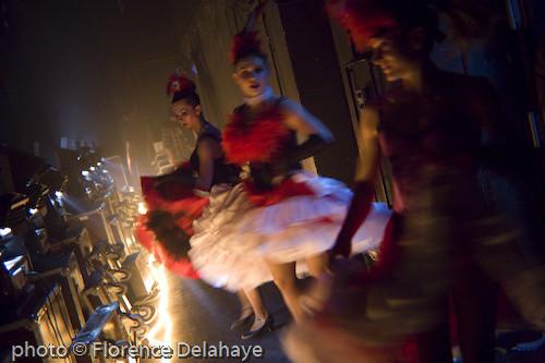 Cabaret des Filles de Joie, soirée Heretik, Olympia, 2008