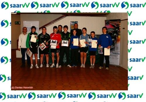 Gewinner des Saar-VV Cup `12