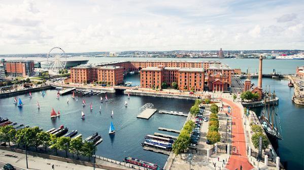 Les docks de Liverpool