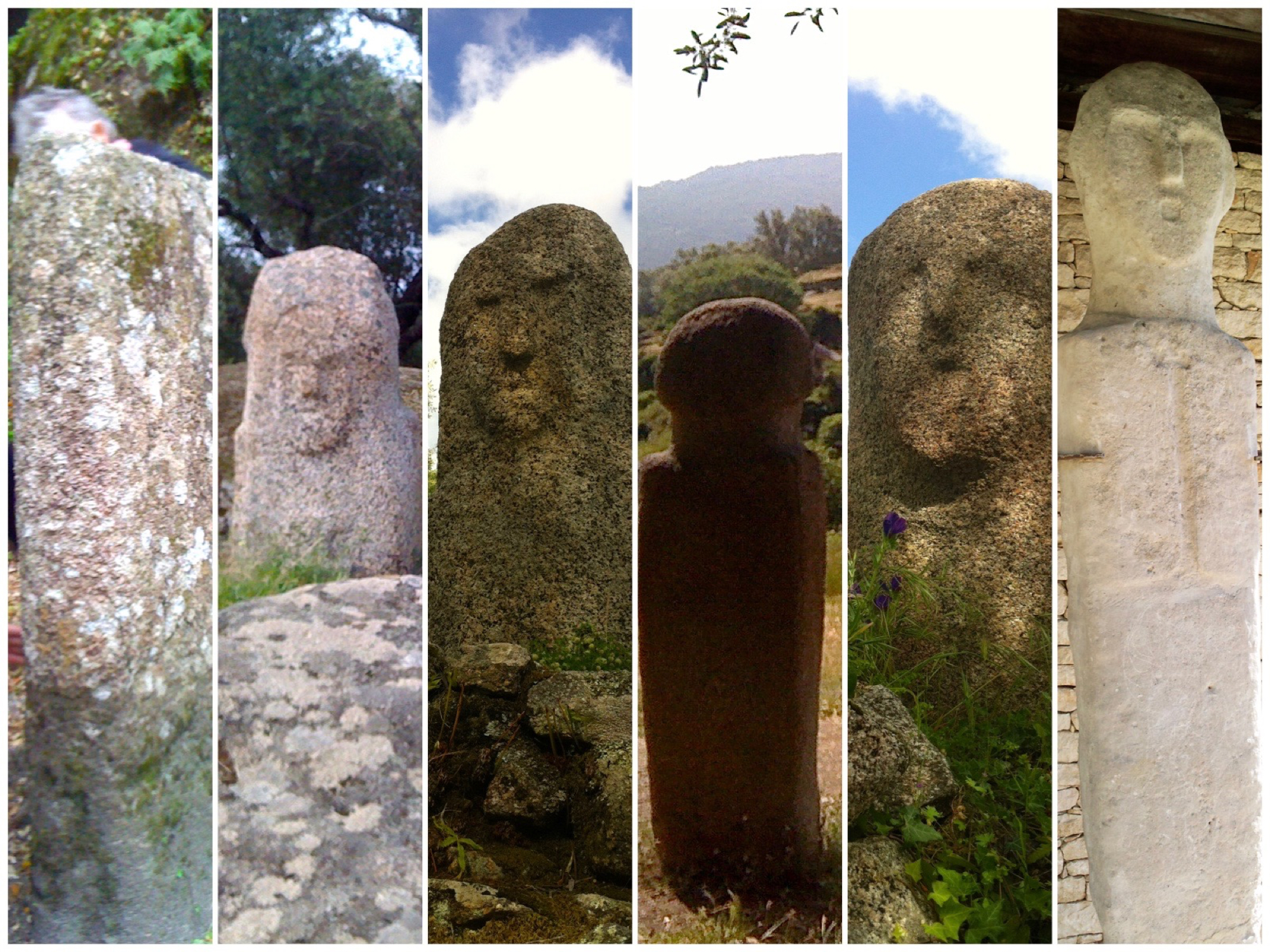 Menhirs : photo de famille