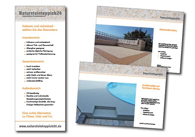 Gestaltung von Roll-ups, Gestaltung von Booklets, www.petrakress-grafikdesign.de
