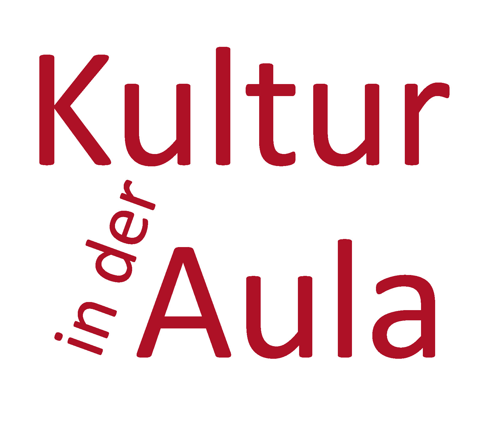 Logodesign für Kultur in der Aula, Grafikbüro Petra Kress in Frankfurt