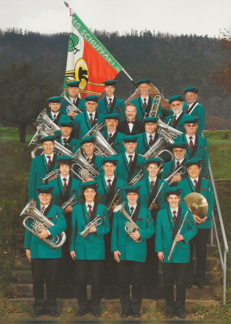Die Musikgesellschaft Schupfart 2008