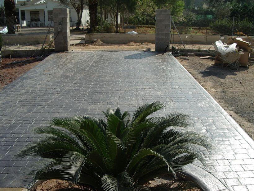 Diseño con hormigón en Alicante.