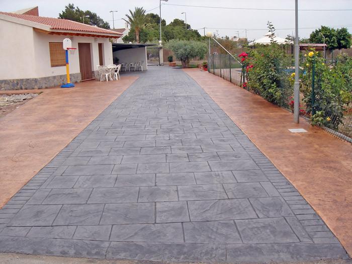 Pavimento para patios en Alicante