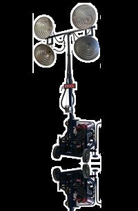 Torre de luz a gasolina