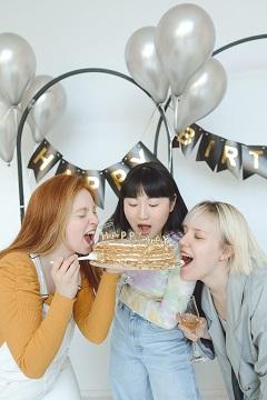 Feier - 3 Freundinnen