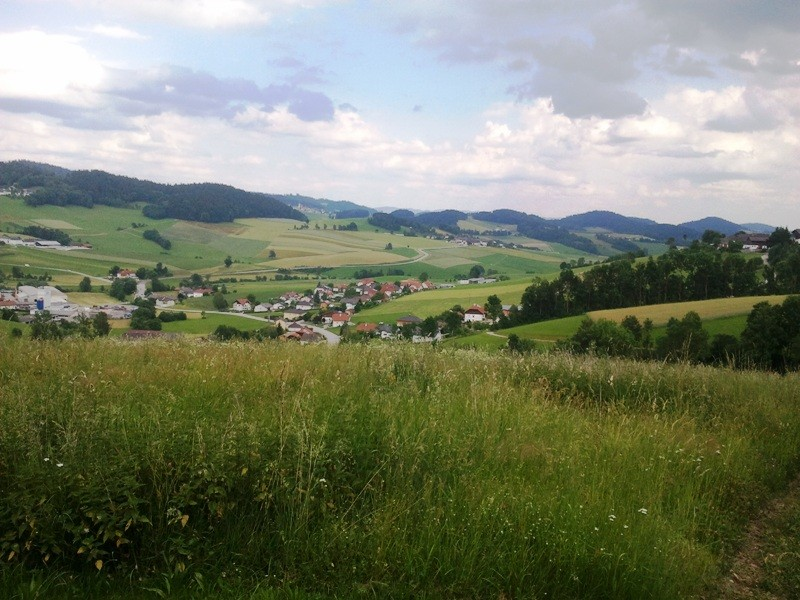 Weitblick ins Tal der Kleinen Mühl