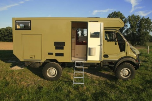 offroad bremach trex prestige camping cars. Black Bedroom Furniture Sets. Home Design Ideas