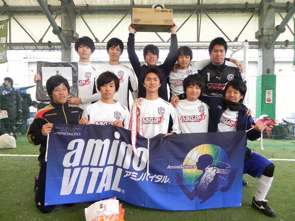優勝 オーパスワンユース  (大阪南・和歌山ブロック代表)