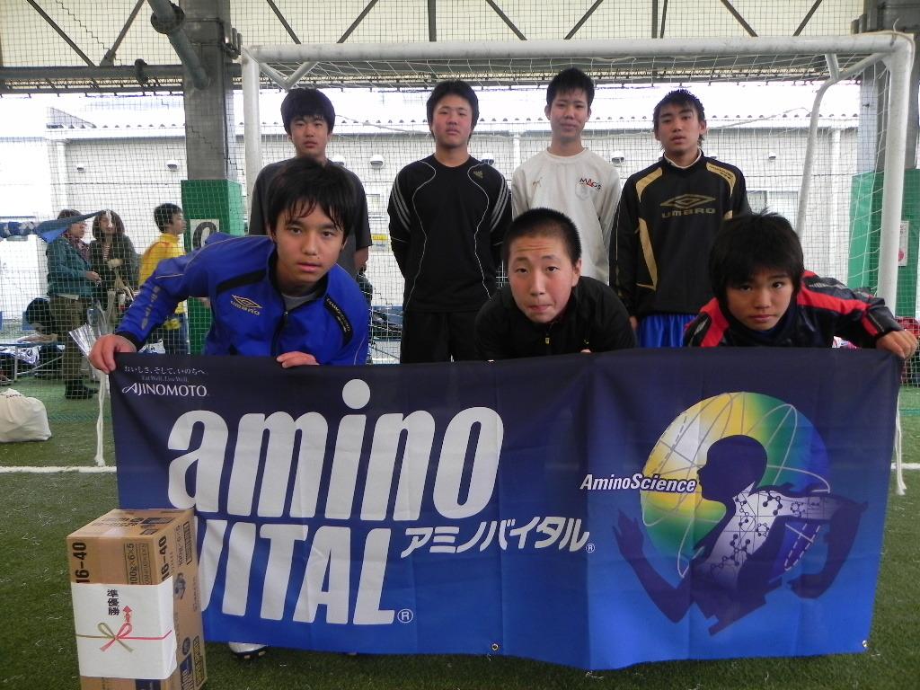 準優勝 CAOSフットサルスクール  (大阪北ブロック代表)