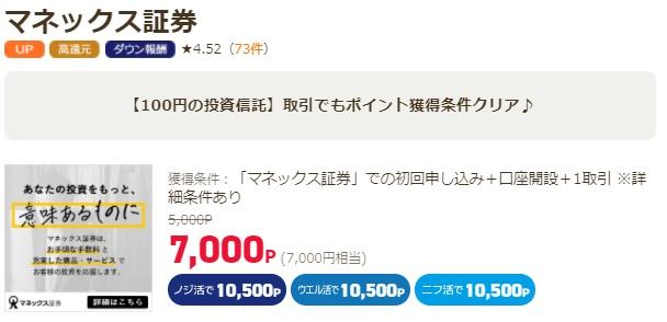 アンケートサイトで7千円稼げる