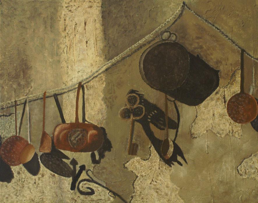 KüchenstillLeben / Acryl / A.Sch.
