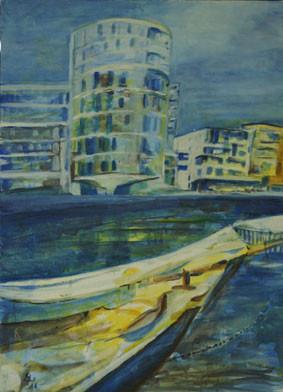 Hafen / Acryl / G.W.