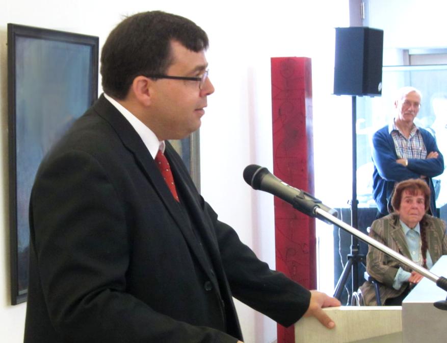Eröffnungsrede der Retrospektive im Kunstmuseum Solingen im Jahr 2014 durch Herrn Dr. Haroun Ayech - Geschäftsführer des Freundeskreis Erwin Bowien e.V.