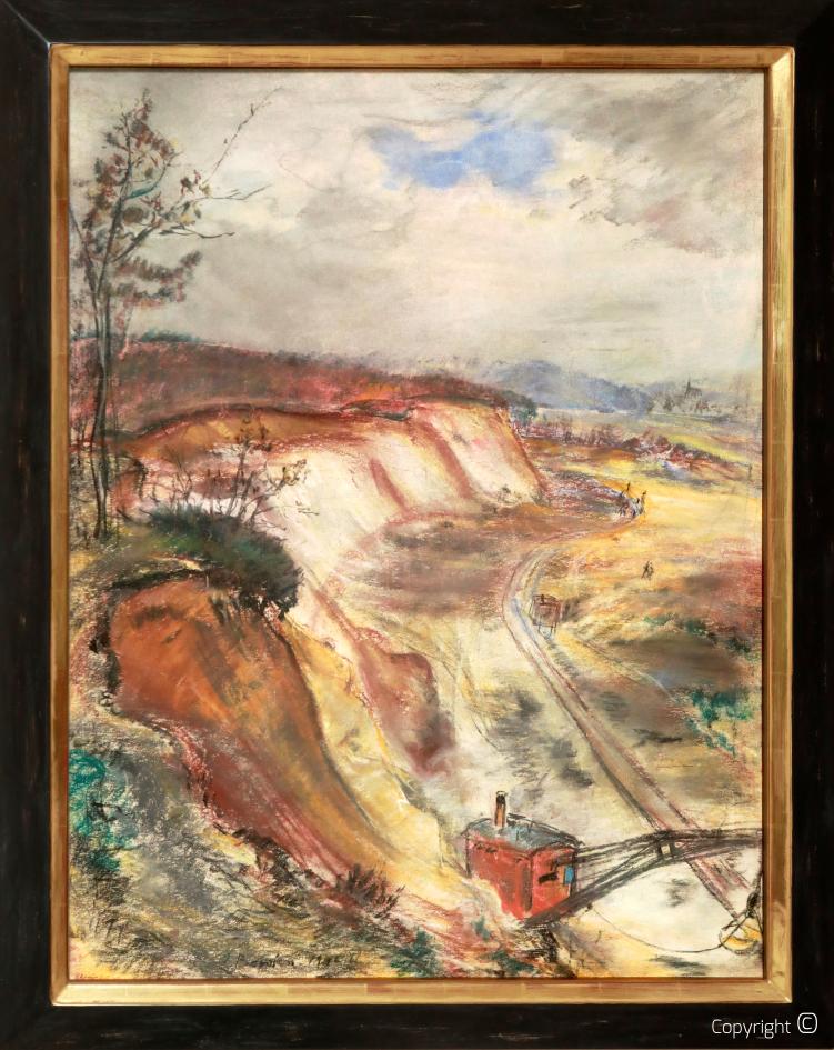 Werkverzeichnis N° 1267 – Leichlinger Sandberge, 1946