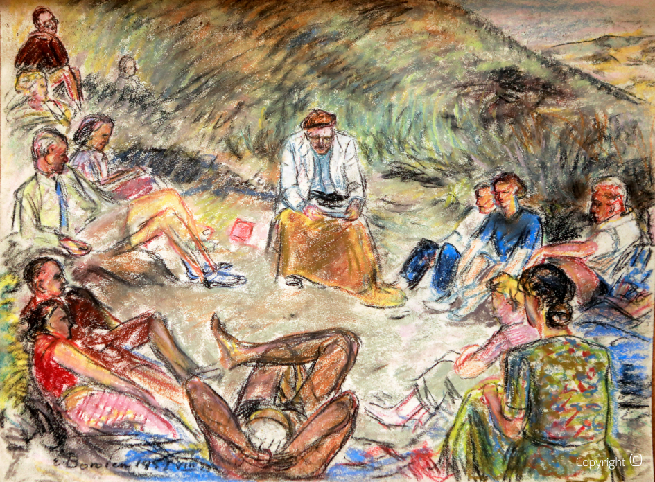 Vortrag in der Volkshochschule Klappholtal, 23. VIII. 1951