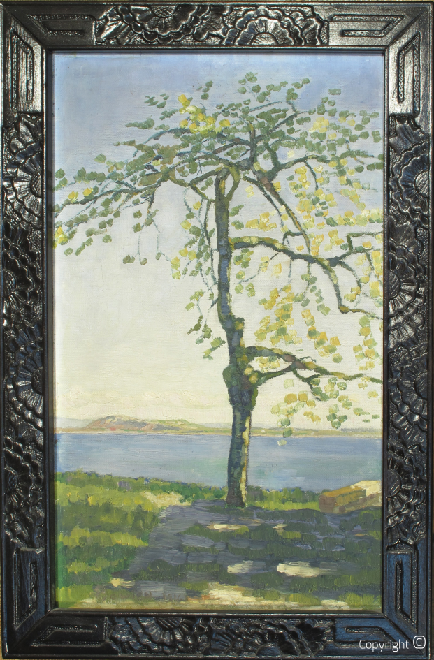 Catalog of Works N ° 04 - Cherry Tree in Neuchâtel (CH), 1916