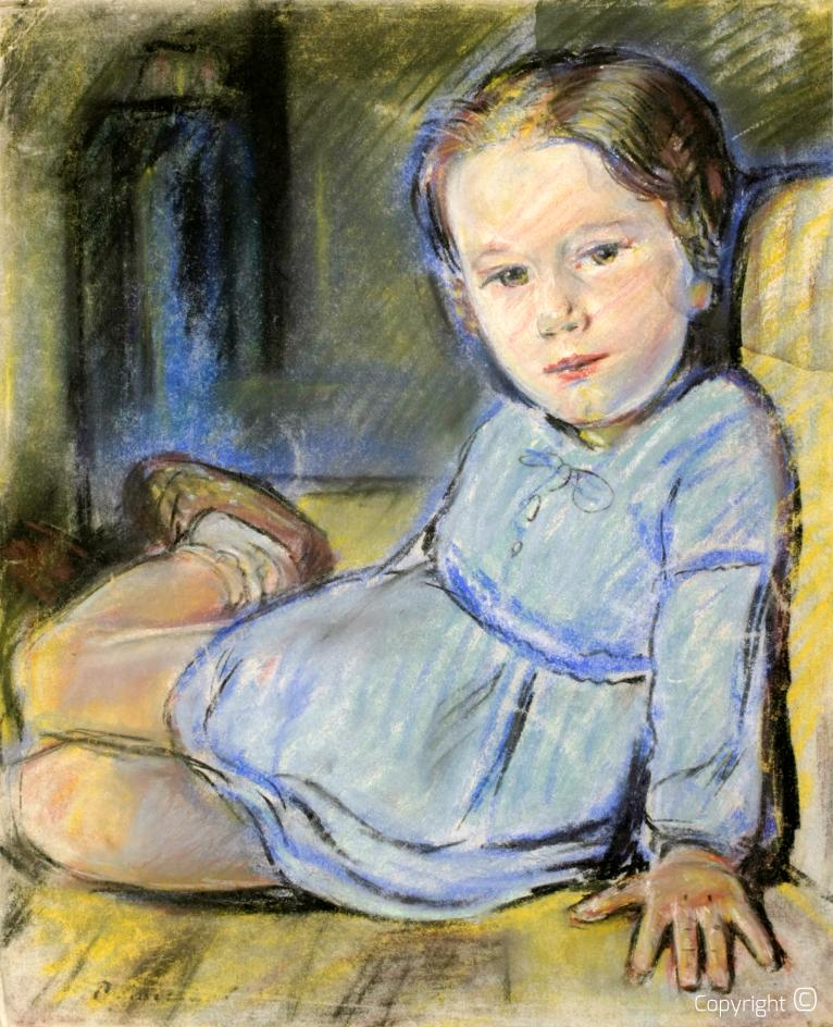 Kind in den Niederlanden, 30er Jahre