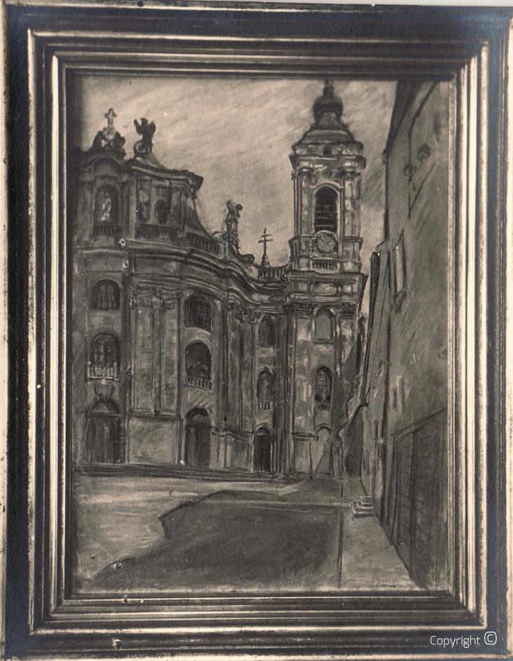 Verschollen - Stadtvedute, ca. 1928