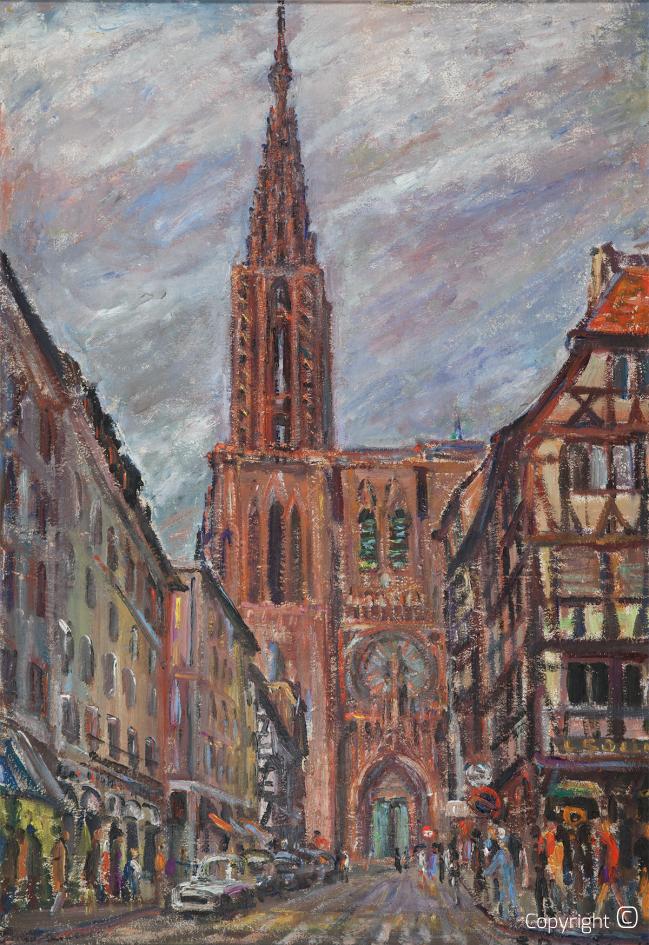 Münster zu Straßburg, 1970